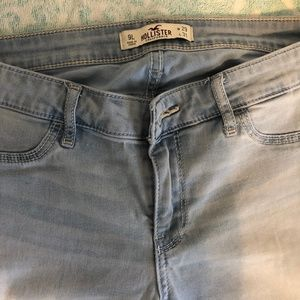 Hollister White Wash Jeans